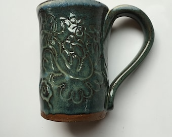 Kayak : Hand Built Mug