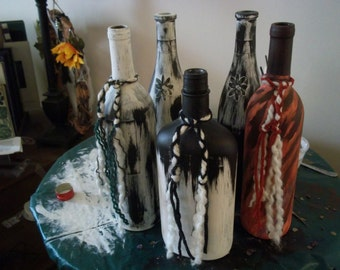 Goddess Witch Bottles