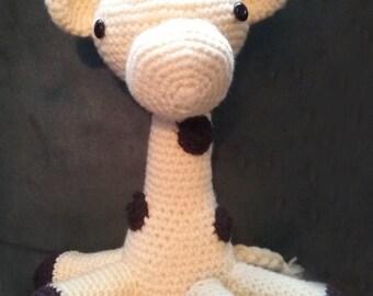 Cuddly Amigurumi Giraffe : Items similar to Cuddly Giraffe Amigurumi Crochet Pattern ...