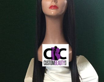 Machine Sewn China Wig