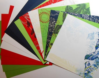 Bird Themed Scrapbook Paper, 15 Page 12x12 Set