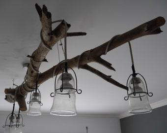 Natural ceiling lamp