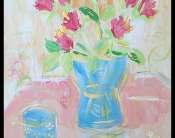 Le bouquet de fleurs