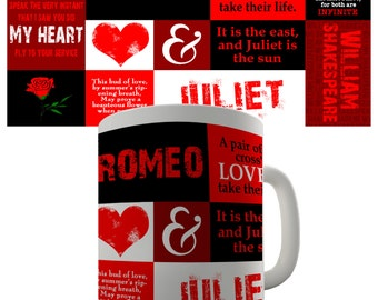 Romeo And Juliet Ceramic Funny Mug