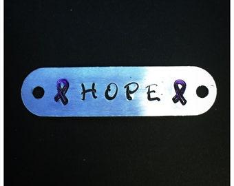 Hope shoelace tag