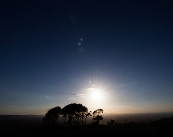 Cleeve Common Photo Print (Mounted) - Cheltenham, Cotswold, Gloucestershire