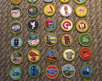 Merit Badge Lot
