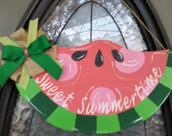 Sweet Summertime Door Hanger