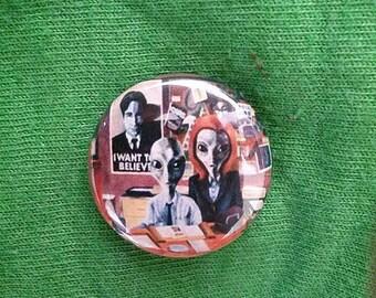 X-Files Alien Buttons