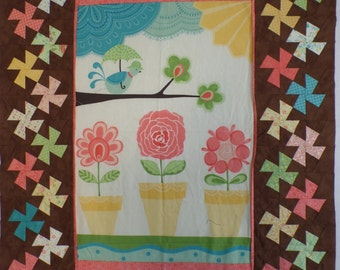 Chance of Flowers- Unfinished Quilt Top
