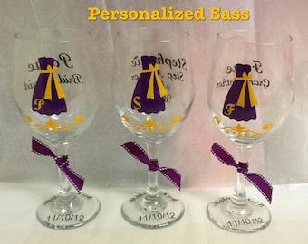 BrideMaids Wine Glasses