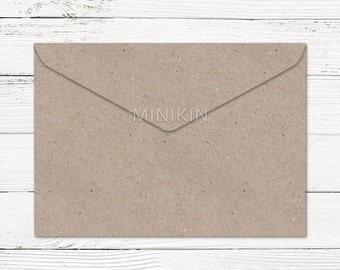 Recycled Brown Envelopes, C6 Envelopes, C6 Envelopes, Brown Envelopes, Kraft Envelopes, Wedding Envelopes, Recycled Envelope x 20