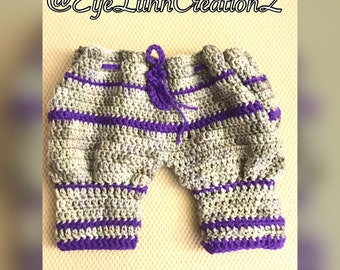 Crocheted Toddler Pants