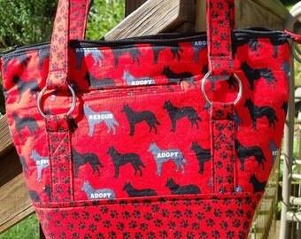 Small Tote Bag - Purse, Shoulder Bag