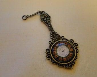 Tick Tock Steampunk Pendant