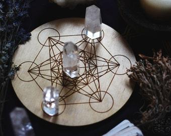 Crystal grid, Metatrons cube