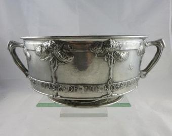 Liberty Tudric Pewter Bowl David Veasey