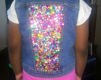 Blinged Out Customized Vest