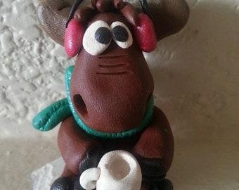 Mini clay Reindeer