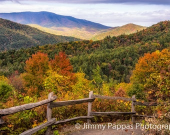 Cataloochee Great Smoky Mountains Fine Art Print Jimmy Pappas Photography