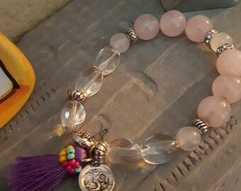 Rose quartz Boho