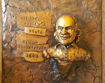 William Shakespeare Original Sculpture