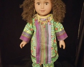 African Queen American Girl Doll