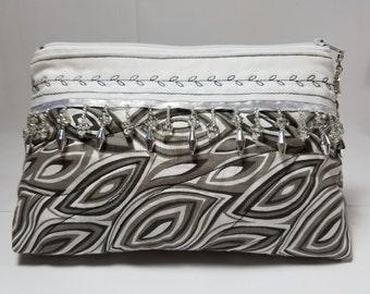 Cosmetic bag, pencil bag, Makeup Bag, Gift, Storage Bag, Travel Bag, Brush carrier, Toiletries, Bridal-Wedding Gift