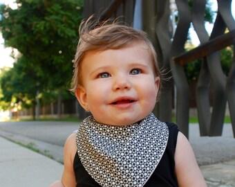 Baby Dribble Bandana Bib Baby Black Drool Bib Bandana Bib Pacifier Clip Set Toddler Bib Newborn Gift Baby Shower Gift