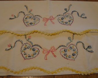 Lovely Vintage Pillow Cases