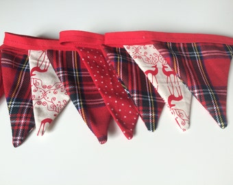 Mismatched Red Bunting
