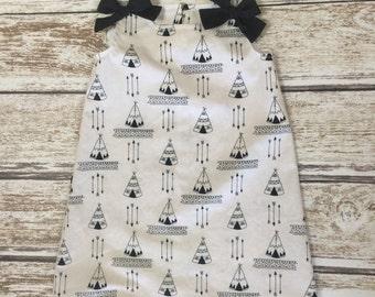 Girls Back to School Dress - Girls School Dress - Toddler Dress - Girls Black and White Dress - Black and White Girls Dress - Dress