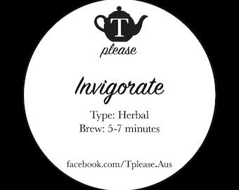 Invigorate loose leaf tea