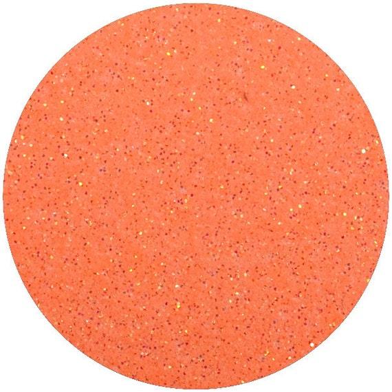 Neon Orange Glitter HTV Vinyl Siser Glitter Heat by ...