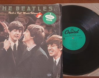 "The Beatles Rock ""N"" Roll Music Volume 2 LP 1980 Capitol Records"