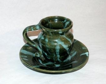 Tea cup and matching Saucer
