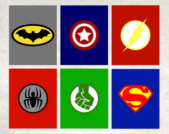 Superhero Printables < Superhero Logos < Superhero Wall Art < Batman < Spiderman < The Hulk < Superman < Captain America < Set of 6