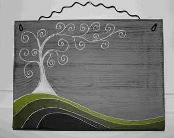 Door plate tree