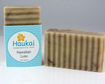 Hawaiian Luau handcrafted soap