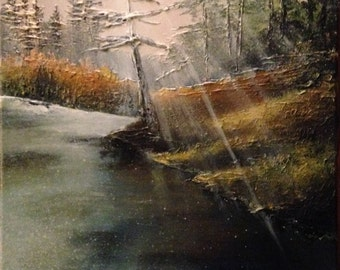 "Acrylic Painting 12""x16"""