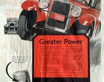 Original 1927 Bohnalite Piston