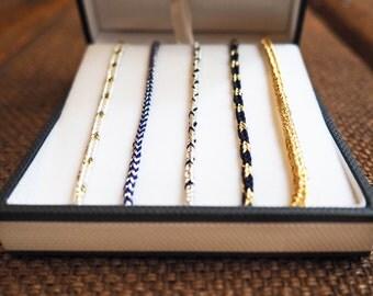 """Box """"Petit Matelot"""" 5 bracelets"""