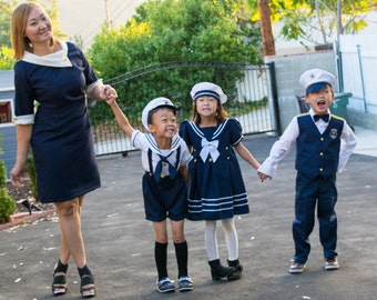 Mommy & Me Nautical Mod Dress