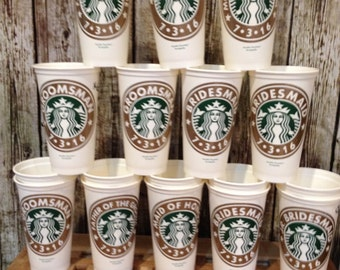 Starbucks cups available for all occasions. These are genuine 16 oz starbuck cups.