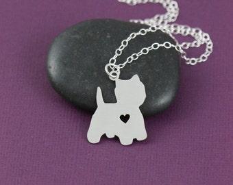 Yorkie Yorkshire Terrier Maltese Bishon Dog Pendant Necklace