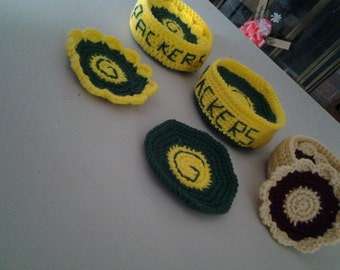 Coasters, crocheted