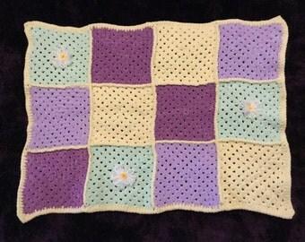Crochet Baby Blanket in Flutterby Chunky