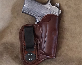 Kimber Solo IWB Concealed Leather Holster