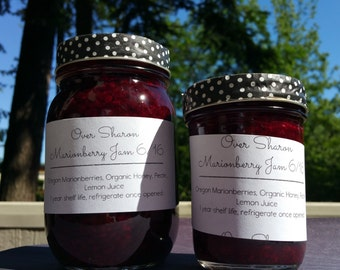Oregon Marionberry Jam