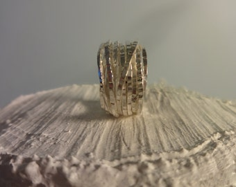 thick woven ring